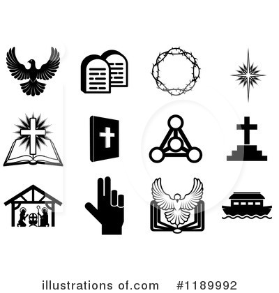 Christian Icons Clipart #1189992 by AtStockIllustration