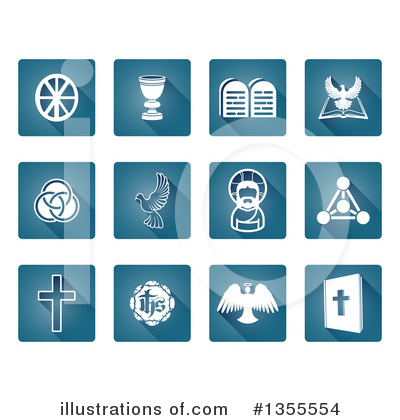 Christian Icons Clipart #1355554 by AtStockIllustration
