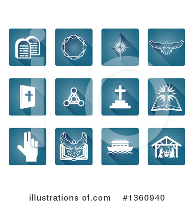 Icons Clipart #1360940 by AtStockIllustration