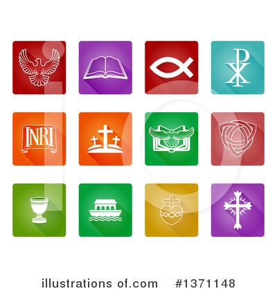 Christian Icons Clipart #1371148 by AtStockIllustration