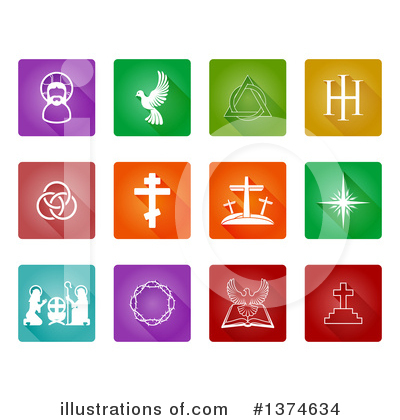 Christian Icons Clipart #1374634 by AtStockIllustration