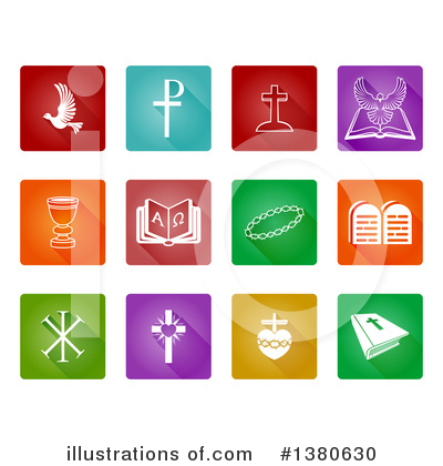 Christian Icons Clipart #1380630 by AtStockIllustration