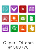 Christian Icons Clipart #1383778 by AtStockIllustration