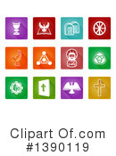 Christian Icons Clipart #1390119 by AtStockIllustration