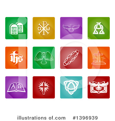 Christian Icons Clipart #1396939 by AtStockIllustration