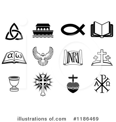 Christian Icons Clipart #1186469 by AtStockIllustration