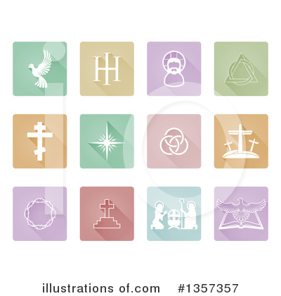 Cross Clipart #1357357 by AtStockIllustration