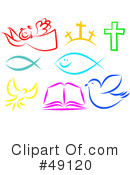 Royalty-Free (RF) Christianity Clipart Illustration #49120