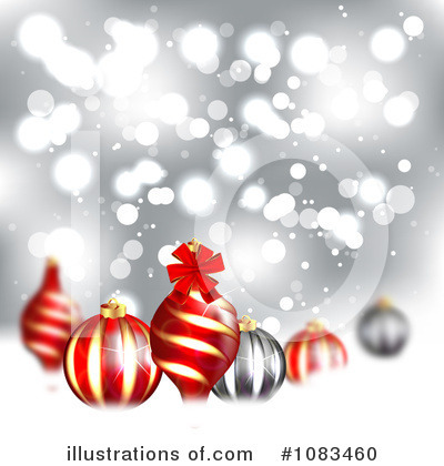 Christmas Background Clipart #1083460 by vectorace