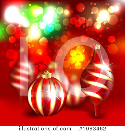 Christmas Background Clipart #1083462 by vectorace