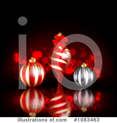 Christmas Background Clipart #1083463 by vectorace