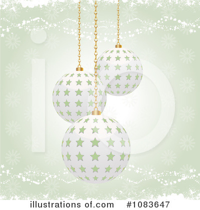 Royalty-Free (RF) Christmas Background Clipart Illustration by Elaine Barker - Stock Sample #1083647