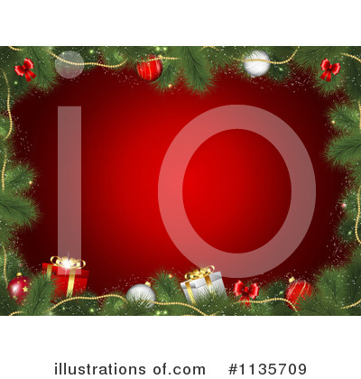 Christmas Gift Clipart #1135709 by KJ Pargeter