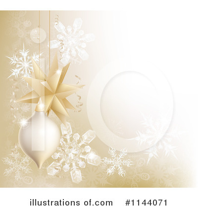 Royalty-Free (RF) Christmas Background Clipart Illustration by AtStockIllustration - Stock Sample #1144071