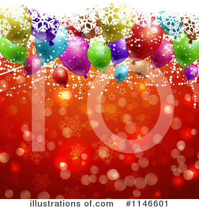 Party Balloons Clipart #1146601 by KJ Pargeter