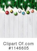 Royalty-Free (RF) Christmas Background Clipart Illustration #1146605