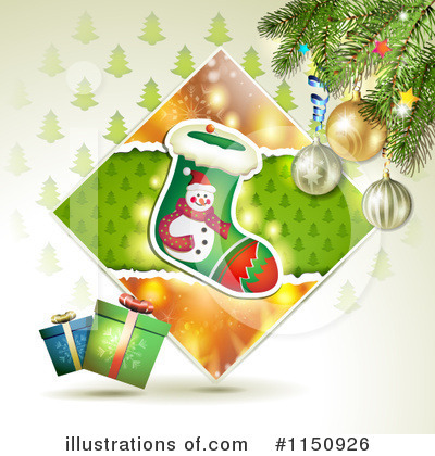 Christmas Stocking Clipart #1150926 by merlinul