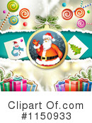Christmas Background Clipart #1150933 by merlinul
