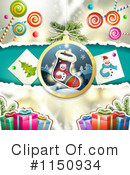 Christmas Background Clipart #1150934 by merlinul