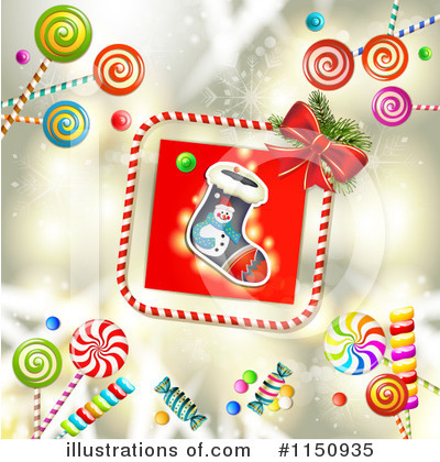 Christmas Stocking Clipart #1150935 by merlinul
