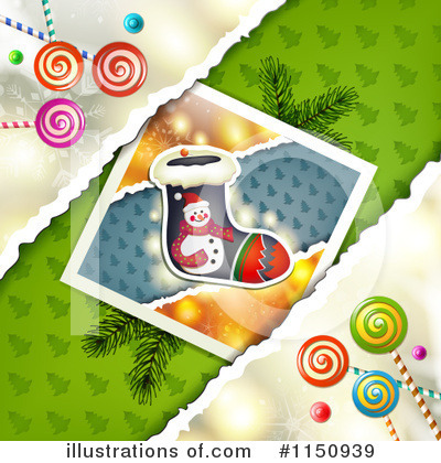 Christmas Stocking Clipart #1150939 by merlinul