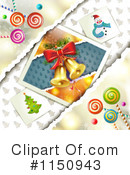 Royalty-Free (RF) Christmas Background Clipart Illustration #1150943