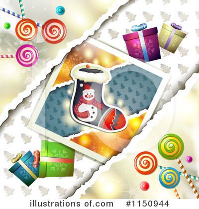 Christmas Stocking Clipart #1150944 by merlinul