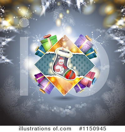 Christmas Stocking Clipart #1150945 by merlinul