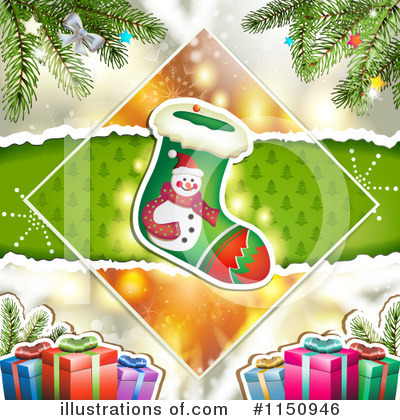 Christmas Stocking Clipart #1150946 by merlinul