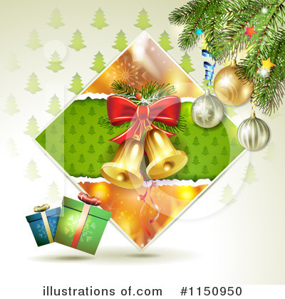 Christmas Bells Clipart #1150950 by merlinul