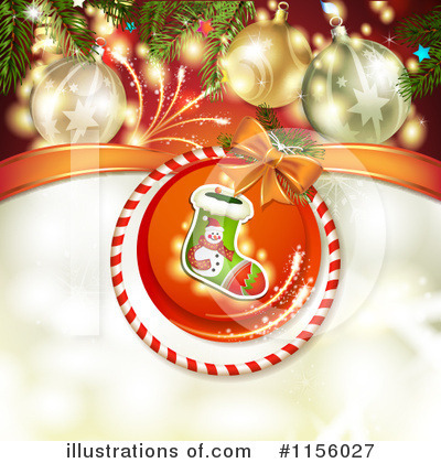 Christmas Stocking Clipart #1156027 by merlinul