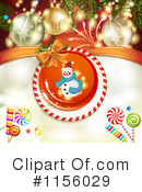 Christmas Background Clipart #1156029 by merlinul