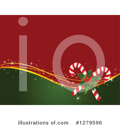 Candy Cane Clipart #1279596 by Pushkin