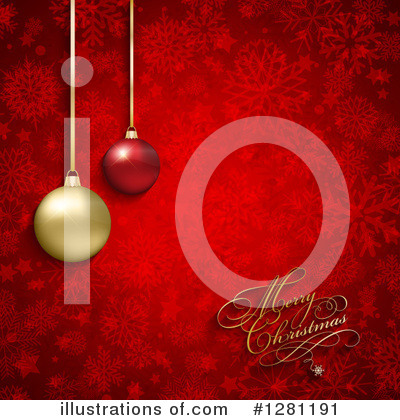Christmas Greetings Clipart #1281191 by KJ Pargeter