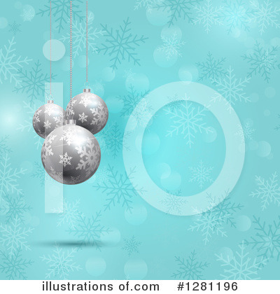 Snowflakes Clipart #1281196 by KJ Pargeter