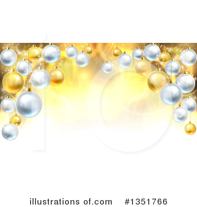 Christmas Background Clipart #1351766 by AtStockIllustration