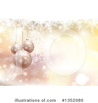 Snowflakes Clipart #1352080 by KJ Pargeter