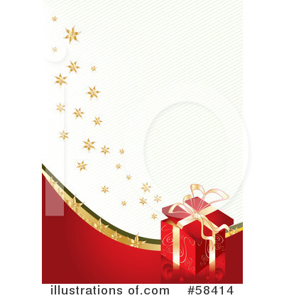 Christmas Background Clipart #58414 by MilsiArt