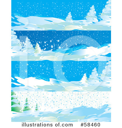 Royalty-Free (RF) Christmas Background Clipart Illustration by MilsiArt - Stock Sample #58460