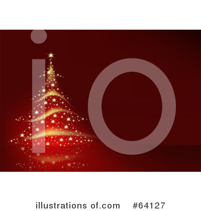 Royalty-Free (RF) Christmas Background Clipart Illustration by dero - Stock Sample #64127