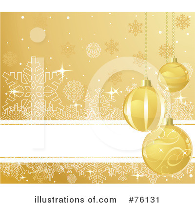 Royalty-Free (RF) Christmas Background Clipart Illustration by Pushkin - Stock Sample #76131