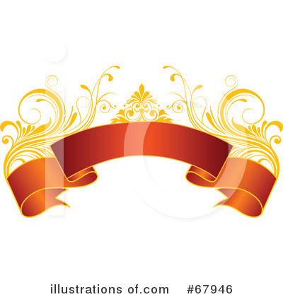 Royalty-Free (RF) Christmas Banner Clipart Illustration by OnFocusMedia - Stock Sample #67946