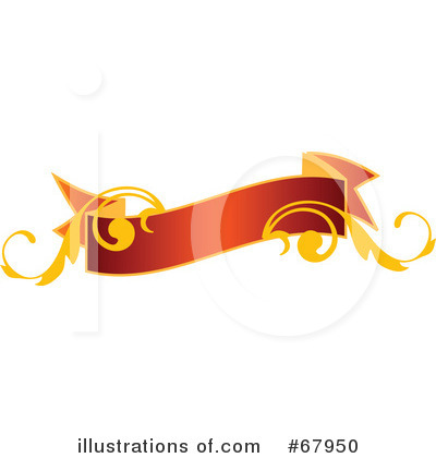 Royalty-Free (RF) Christmas Banner Clipart Illustration by OnFocusMedia - Stock Sample #67950