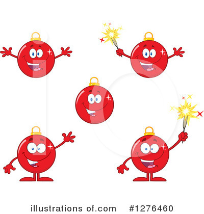Christmas Bauble Clipart #1276460 by Hit Toon