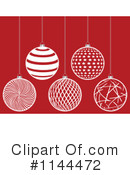 Christmas Bauble Clipart #1144472 by Andrei Marincas