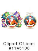 Christmas Bauble Clipart #1146108 by merlinul