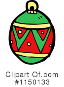 Christmas Bauble Clipart #1150133 by lineartestpilot