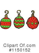Christmas Bauble Clipart #1150152 by lineartestpilot