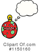 Christmas Bauble Clipart #1150160 by lineartestpilot
