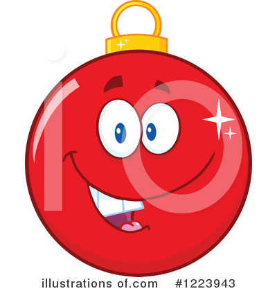 Bauble Clipart #1223943 by Hit Toon